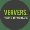 Ververs Tekst en Communicatie Logo
